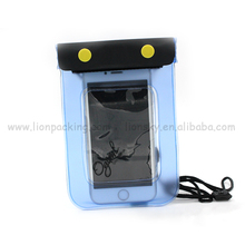 China supplier with a zipper pouches pvc phone waterproof bag