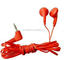 mp3 silicone high quality earphone jack ear plugs