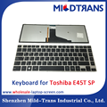 Replacement laptop Internal keyboard for Toshiba E45T SP language layout