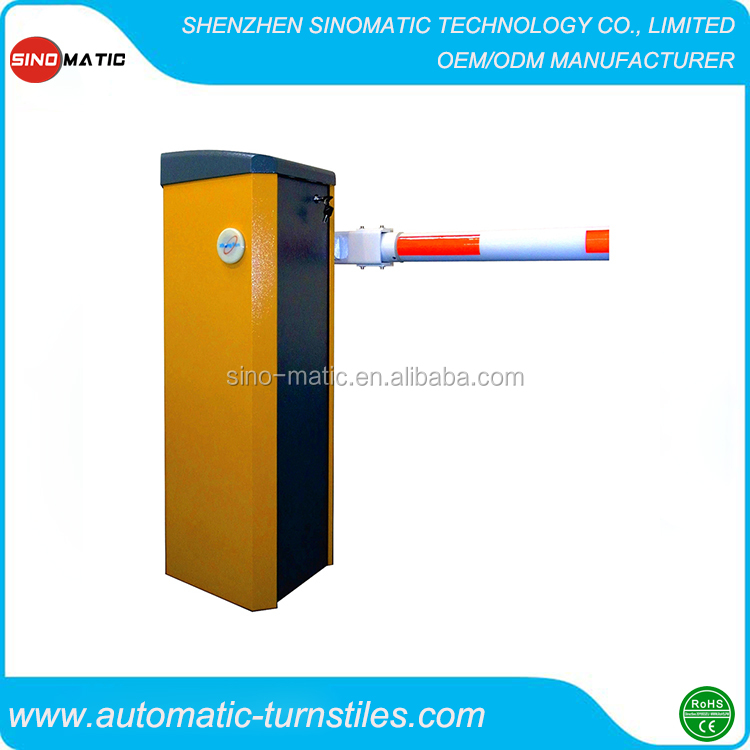 Outdoor Straight Boom barrier gate auto gate for toll system
