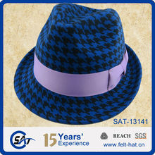 Factory make fedora hat