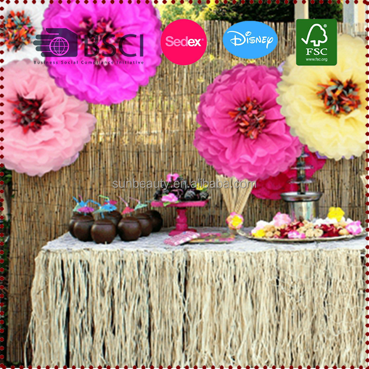 Wholesale Giant Tissue Paper Flower Party Decoration Pom Poms Flower ...