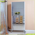 Wholesale wooden mirror shoe cabinet with reasonable price