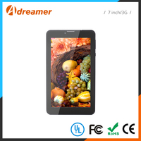 Capacitive screen lightweight 7 inch 3g android 1g ram tablet pc