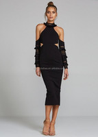 Off-Shoulder black to evening gown designs for fat gir clothes