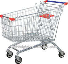 Disabled stainless steel shopping trolley cart