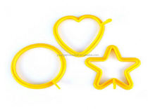 Younger Circle shaped silicone fried egg rings silicone pancake mold