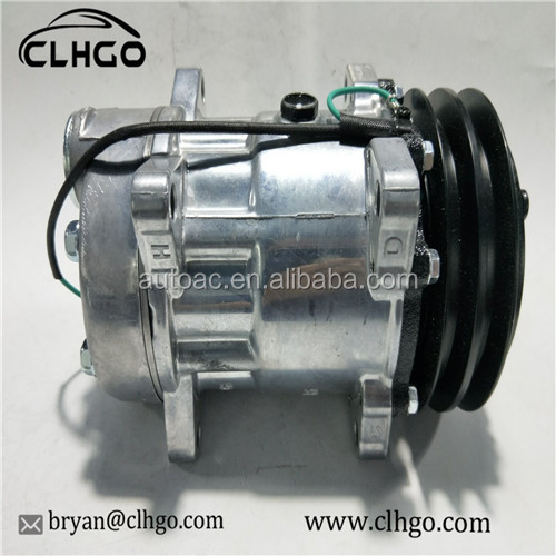 24V SD7H15 car auto ac compressor For Car Volvo 132MM A2 24V <strong>R134a</strong>