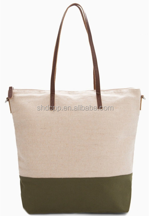 Fashion most popular canvas grocery shopping canvss bag