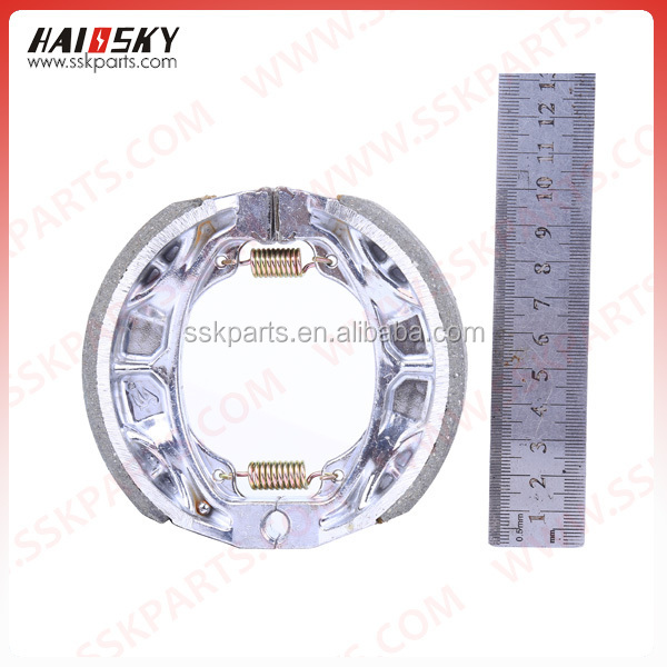 HAISSKY motorcycle body parts / motorcycle accessories high quality brake shoe