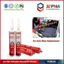 PU8630 Good Oil Resistance Netural RTV Neutral Silicone Sealant for car side glass