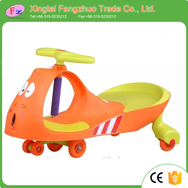 Ride on toy kids swing toy car children wiggle car for hot sale in Pakistan
