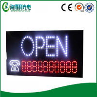 2016newest arrival sign take out contact led sign