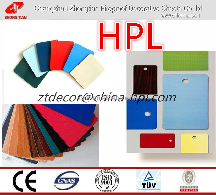 HPL board / melamine HPL board / office furniture laminate