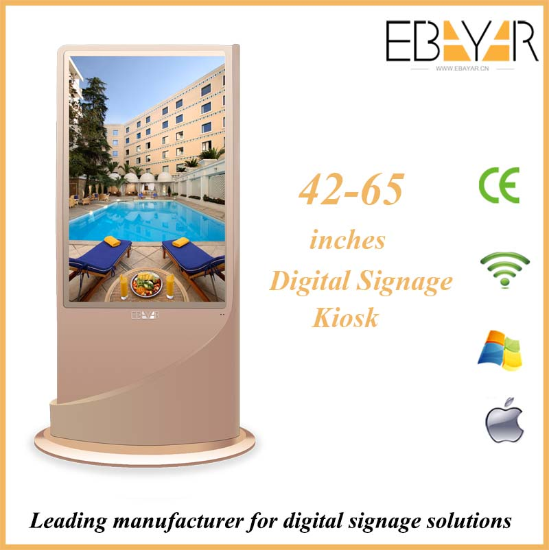 New custom wireless wifi network photo video play advertising photography display/outdoor ad led display/advertising booth