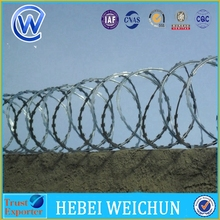 High Security 15m welded razor wire for marine manufacturer