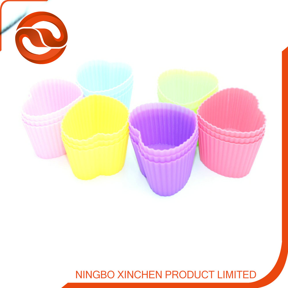 Wholesale cup cake molds silicone