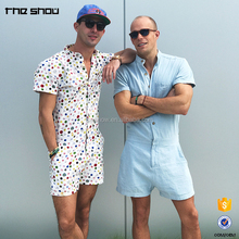 OEM manufacturer wholesale custom jumpsuit romper for men