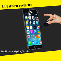 Free sample 4H Hardness Clear LCD 3-layer mobile screen protector for iphone 6 & 6 Plus