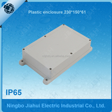 IP65 plastic waterproof electrical enclosure 230x150x61, China supply outdoor waterproof plastic box, cheap plastic enclosures