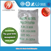LIANGJIANG CHEM new product precipitated barium sulfate, natural barite, oil drilling mud barite