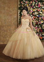 eastern party dresses ball gown appliqued long prom dress