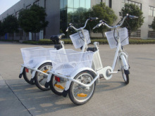 lithium battery three wheel electric trike scooter