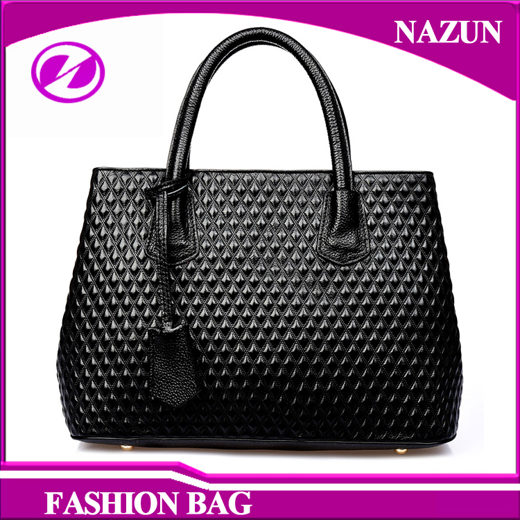 china supplier 2017 new Popular genuine leather lady handbag woman hand bags with high quality