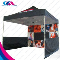 outdoor trade show promotion steel frame structure fold large canopy