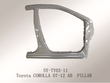 for Toyota Corolla(2007-2012) suyang steel auto AB Pillar car spare parts for sale
