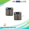 manufacturer whole sale semi metalic non-asbestos CG125 brake pads for motorcycle utv atv mountain bike go kart and dirt bike
