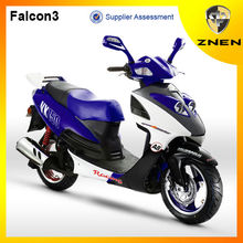 2017 ZNEN falconer tires 150cc diesel engine scooter,taizhou zhongneng scooter parts