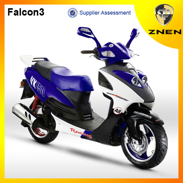 2017 falconer tires 150cc diesel engine scooter,taizhou zhongneng scooter parts