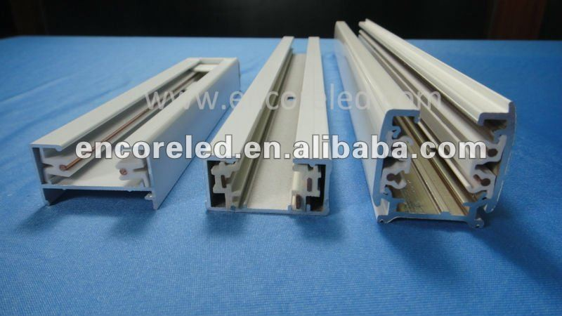 LED Track Lights Track Rails CE ROHS Certificated High Quality 3wire 4wire Rail