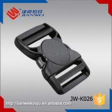 High Quality Curved Double Plastic Adjustable Insert Buckle JW-K026