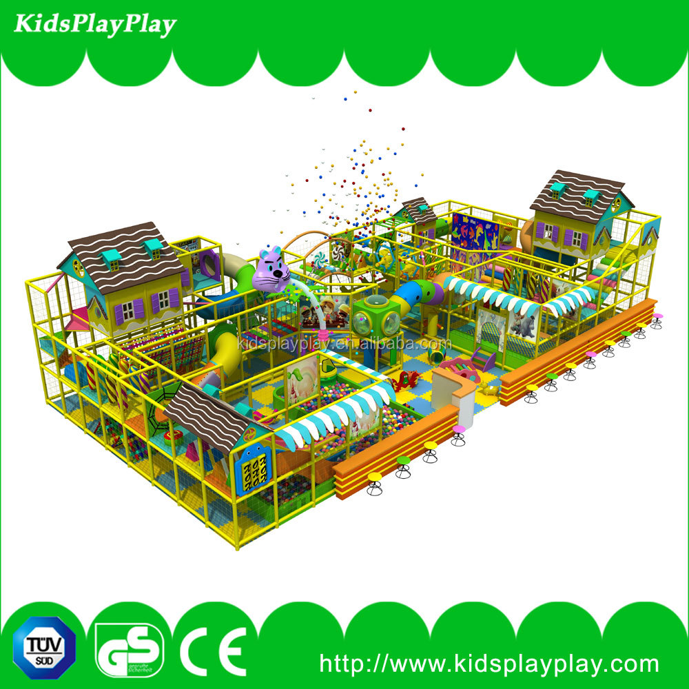 Commercial safe and fun kids indoor playground play park