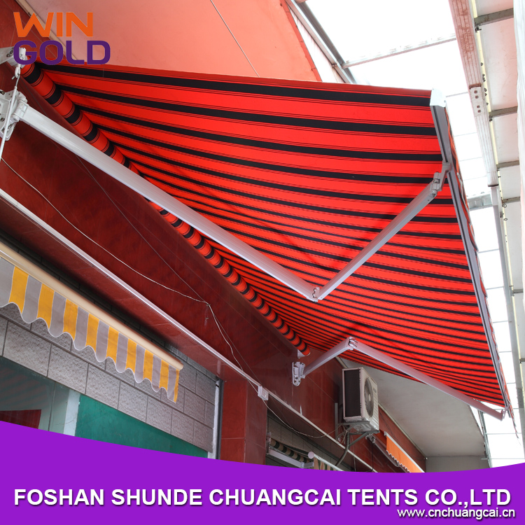 Folding Arm Balcony Awnings Windproof Used Aluminum Awnings For Sale Retractable Awnings For Sale