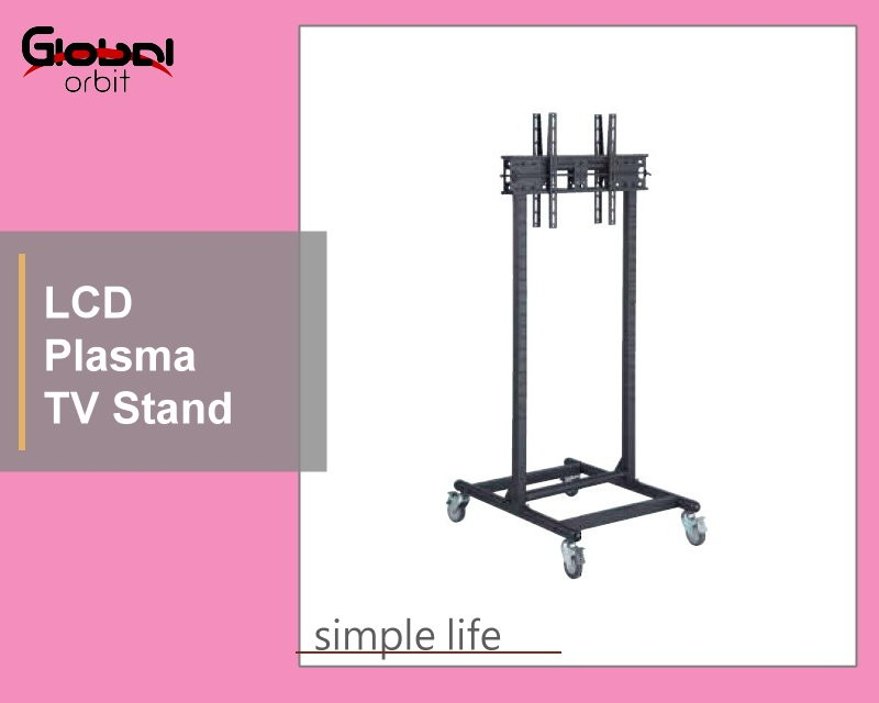 High Quality Plasma TV Bracket Screen Holder Rack Movable TV Cart