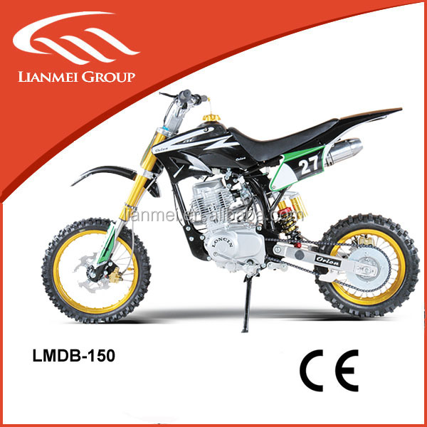 Newest hot sale 150cc 4stroke dirt bike quad bike with CE