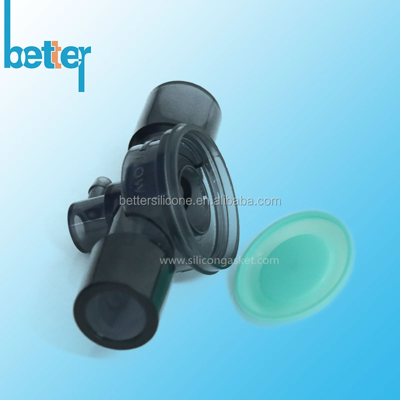 Custom Medical Grade Silicone Rubber Diaphragm Valve for PEEP Valve