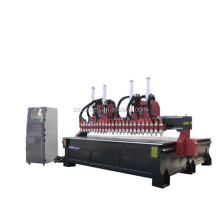 Discount price multi spindle 3D CNC router/Wood cutting machine for alucobond