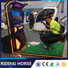 Crazy electric riding horse machine vr shooting simulator 9d game on horse
