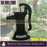 hand operated water well pitcher pump for lifting water