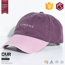 Hong Xiong factory custom logo printing letter fashion dad cap with letter attached baseball caps