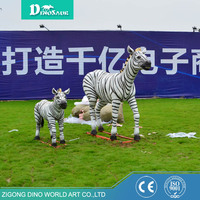 New Arrival Animal Statue Garden Zebra Decoration