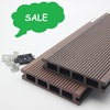 Hot Sale cheap price waterproof grooved surface anti-slip wpc flooring