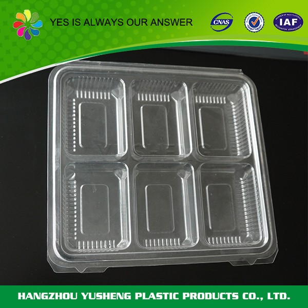 Disposable new container,plastic container with lid for food