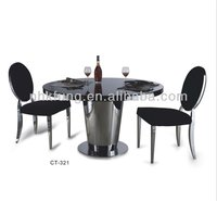 6 seaters wooden dining tables and chairs
