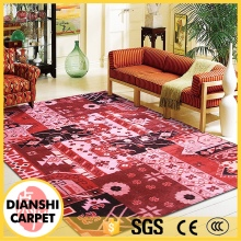 New Style Soft Handmade Geometric shapes 3D Carpet Rug For Sale