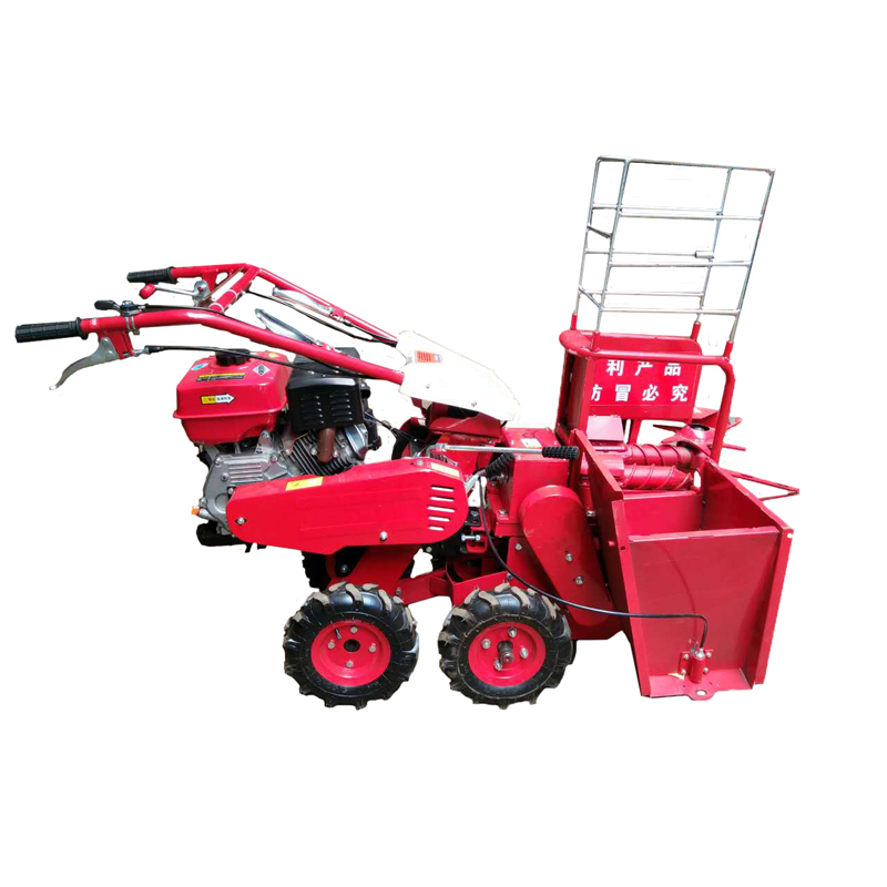 Agriculture machinery & equipment home use mini corn combine harvester